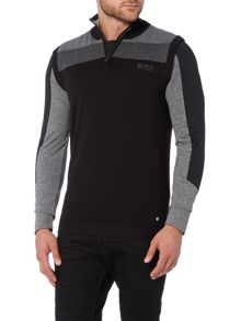 Hugo Boss Zagi Pro 1/2 Zip Knitted Vest