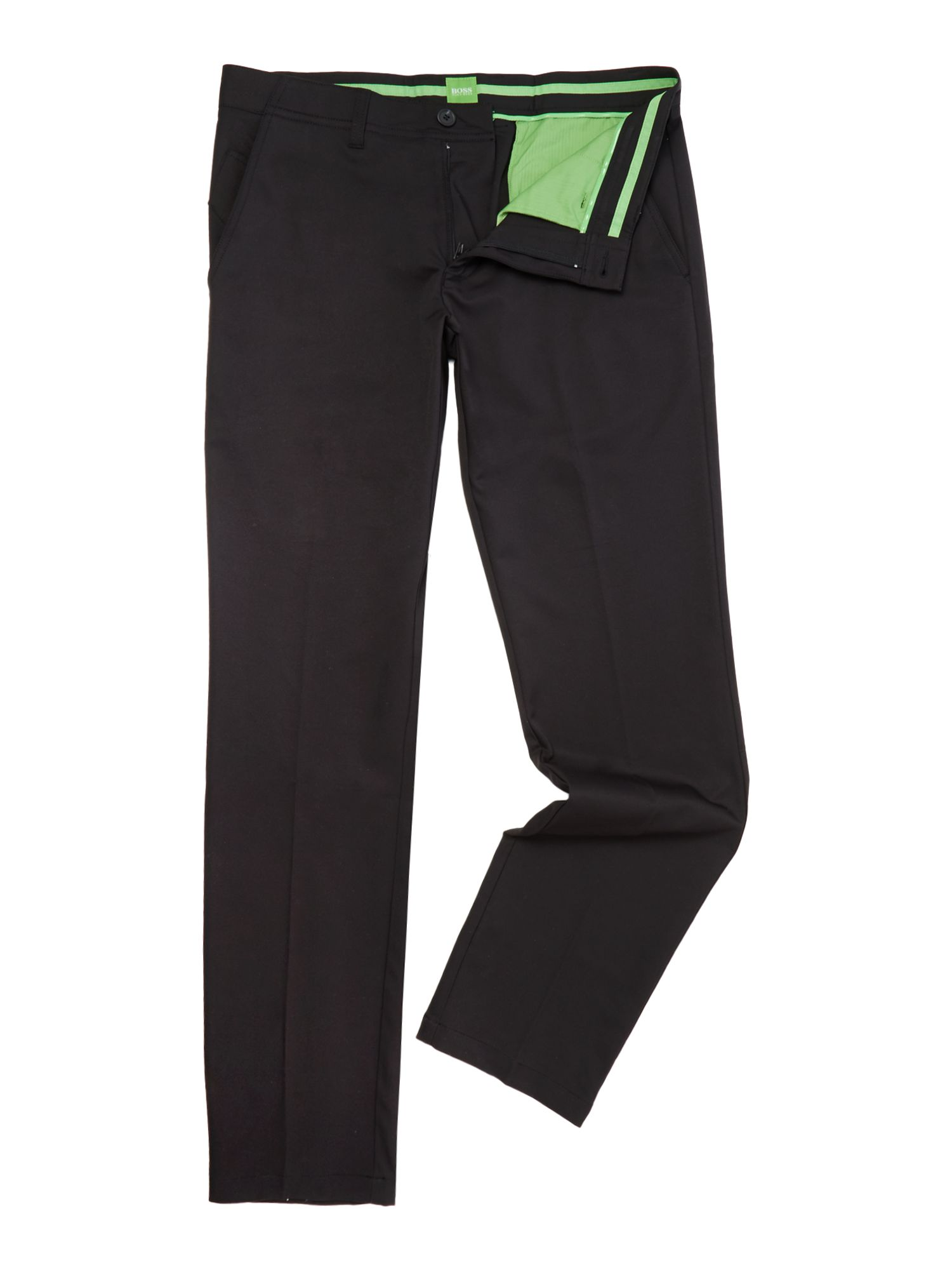 Mens Hugo Boss Hakan Regular Fit Golf Trousers Black