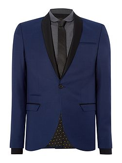 Kinsey Shawl Neck Skinny Fit Suit Jacket