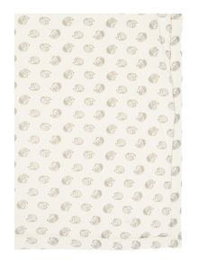 Babys Hedgehog all over print blanket