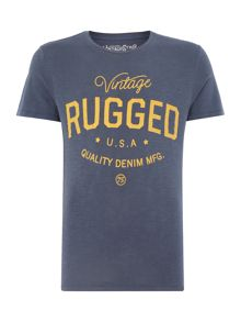 Jack & Jones Rugged Print Crew Neck T-shirt