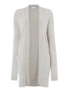 Leis cable knit cardi