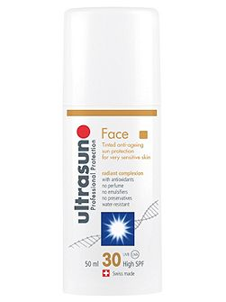 Ultra Sun Tinted Face Sun Protection SPF 30