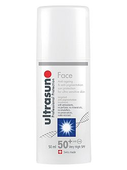 Face Sun Protection Anti Pigmentation SPF 50+