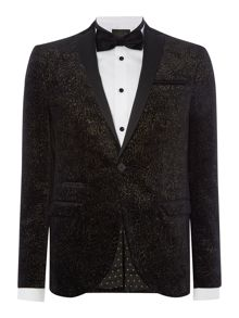 Label Lab Coxley Blazer With Contrast Peak Lapel