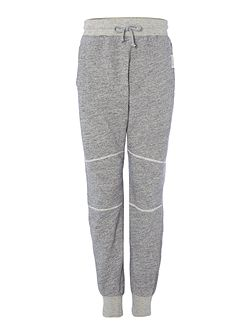 Relaxed fit applique logo tracksuit bottoms