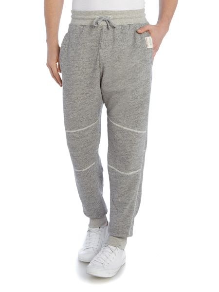 True Religion Relaxed fit applique logo tracksuit bottoms