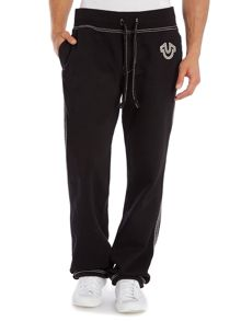 Relaxed fit tracksuit bottoms