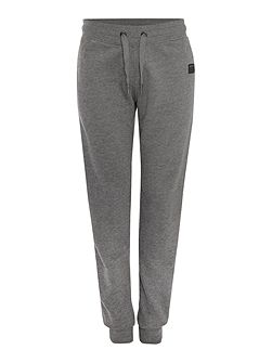 relaxed fit fleece lined tracksuit bottoms