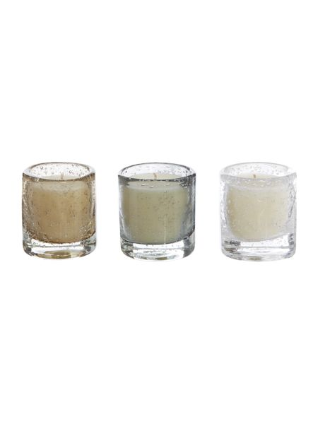 Gray & Willow Set of 3 luxury scented votive candles