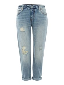 Levi's 501 Custom and tapered fit jean in off road