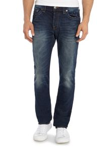 True Religion Rocco slim fit mid wash jean