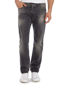 Rocco ruins grey slim fit jean