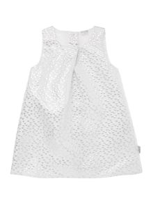 Girls Sparkly dot print shift dress