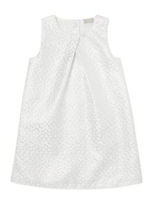 name it Girls Sparkly dot print shift dress