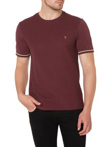 Yewdale regular fit jersey pique t shirt