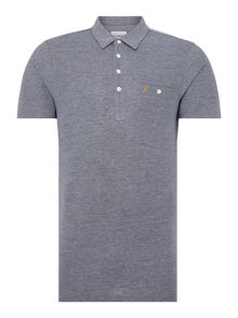 Farah Tennyson Regular Fit Mercerised Cotton Polo Shirt