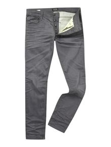 Slim Fit Mid Rise Jeans