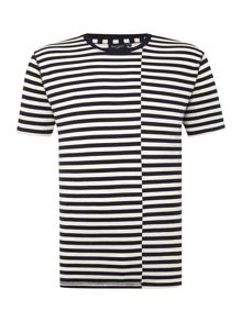 Paul Smith Jeans Regular Fit Striped Crew Neck T Shirt
