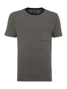 Paul Smith Jeans Regular Fit Fine Stripe T Shirt