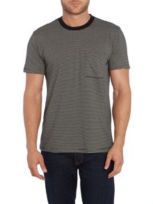 Regular Fit Fine Stripe T Shirt