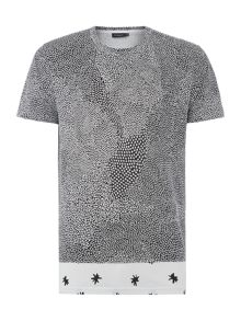 Paul Smith Jeans All Over Mosaic Star Graphic T Shirt
