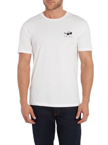 Paul Smith Jeans Regular Fit Believe Back Graphic T Shirt