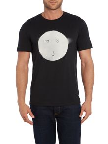 Paul Smith Jeans Regular Fit Blurred Circle PSJ T Shirt