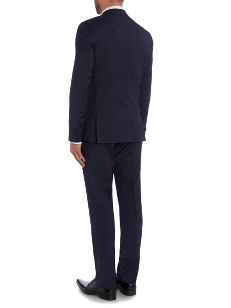 Tommy Hilfiger Single Breasted Glencheck Two-Piece Suit