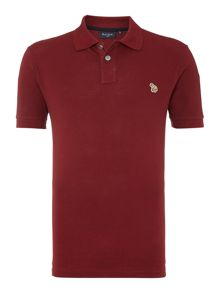 Paul Smith Jeans Zebra Regular Fit Logo Polo