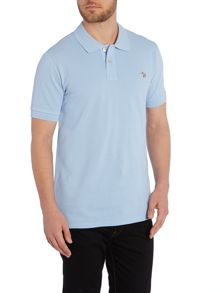Paul Smith Jeans Exclusive Zebra Regular Fit Logo Polo