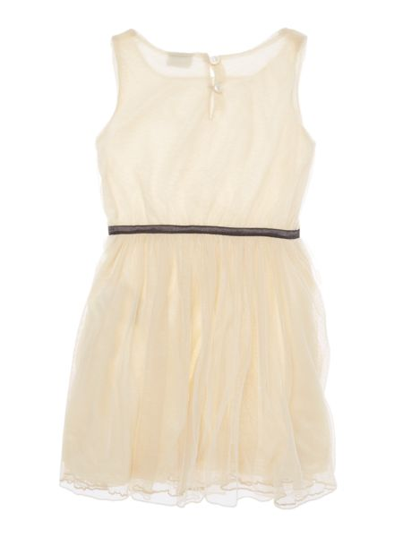 name it Girls Tulle dress with ribbon