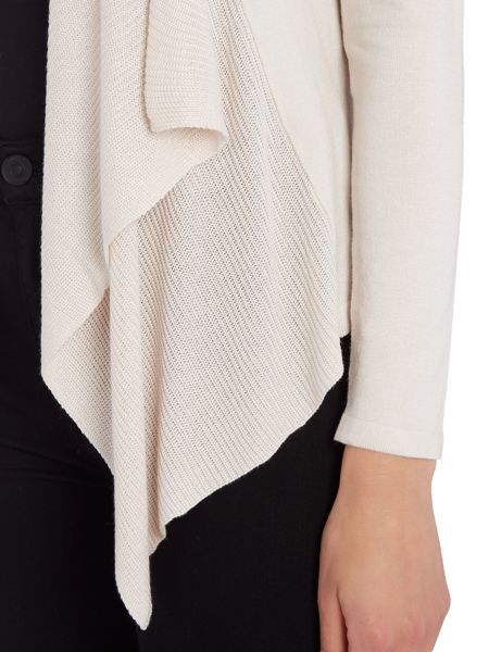 Soaked in Luxury Pleated cardigan with long sleeves