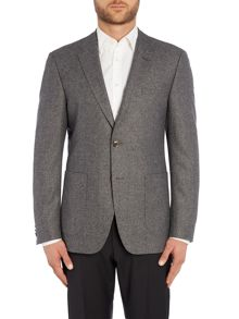 Elbow Patch Texture Jacket