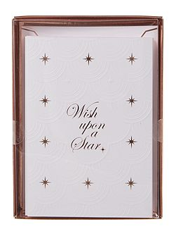 Ted Baker Luzee white christmas cards pack