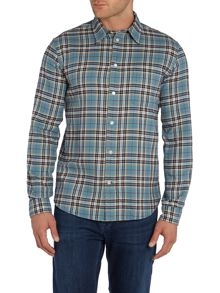 Paul Smith Jeans Tailored fit Long Sleeve Check Shirt