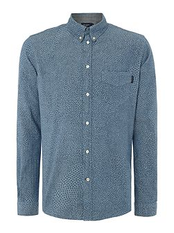 Men's Paul Smith Jeans Tailored Fit Chambray Mosaic