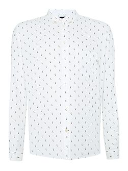Men's Paul Smith Jeans Tailored Fit Printed Oxford