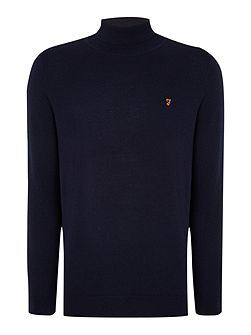 Mcphate fine knit roll neck jumper