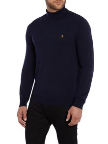 Farah Mcphate fine knit roll neck jumper