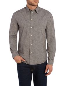 Paul Smith Jeans Tailored Fit All Over Hippo Print Shirt