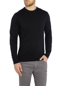 Paul Smith Jeans Crew Neck Cotton Merino Knitted Jumper