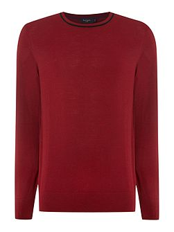 Men's Paul Smith Jeans Crew Neck Tipped Collar