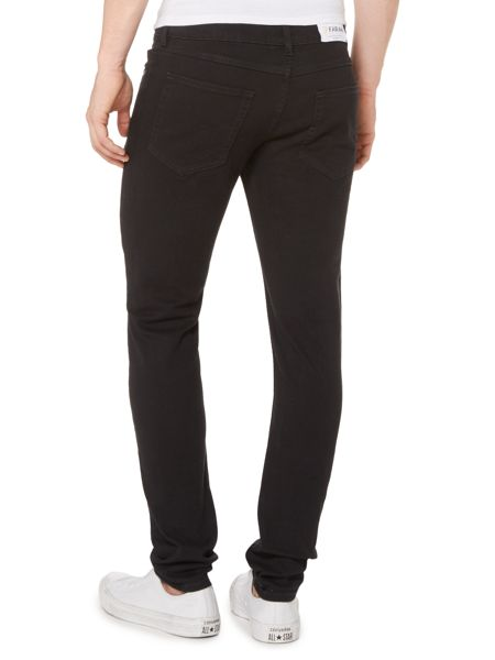 Farah Drake super slim fit 5 pocket black jeans