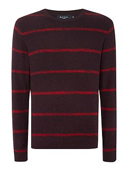 Men's Paul Smith Jeans Crew Neck Striped Knitted