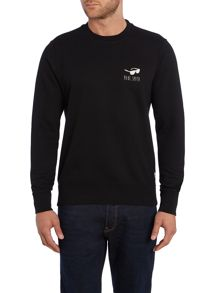 Paul Smith Jeans Regular Fit Crew Neck Believe Sweatshirt