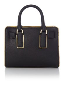 Dillon black small cross body bag