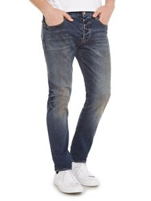 Paul Smith Jeans Tapered Fit Mid Wash Jeans