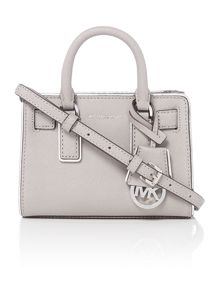Michael Kors Dillon grey small cross body bag