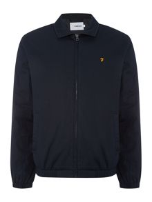 Farah Rawken collared harrington jacket